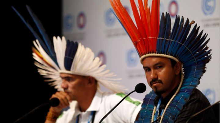Indigenous Leaders at Climate Talks