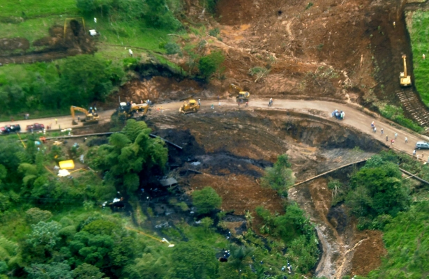 Oil Spill in the Amazon in Ecuador