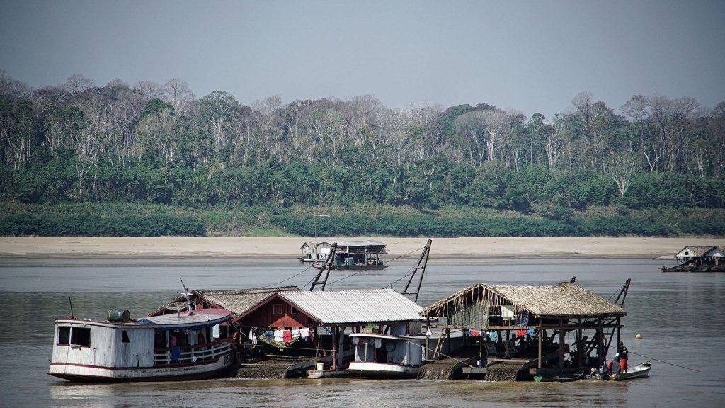 O rio Madeira é uma hidrovia importante da Amazônia Ocidental (Foto: Marcela Bonfim/Amazônia Real)