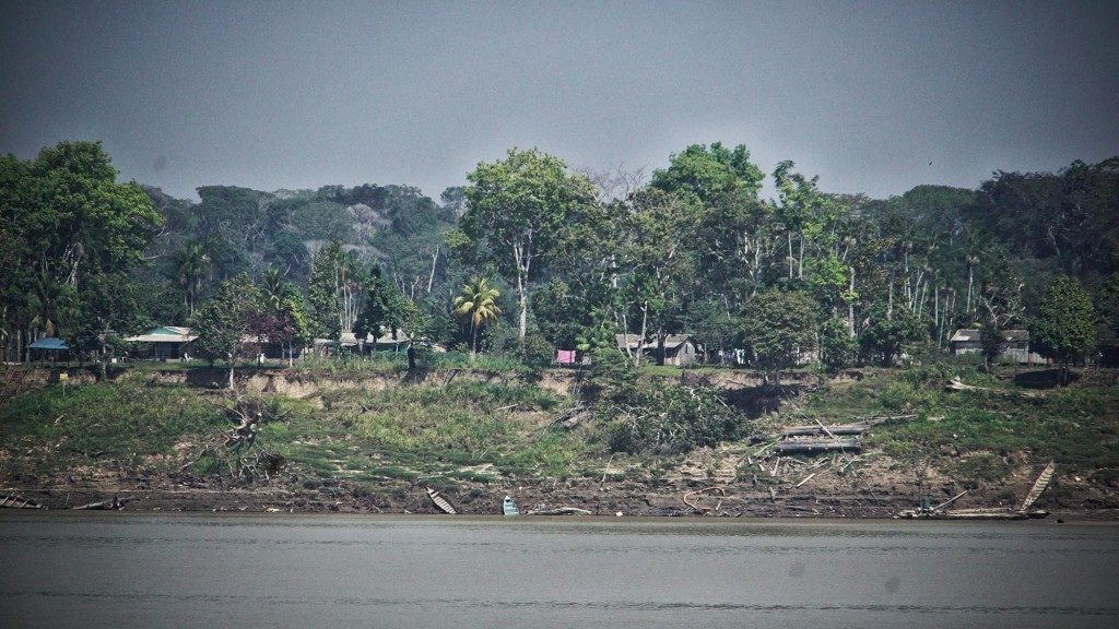 Comunidade de São Sebastião na zona rural de Porto Velho. (Foto: Marcela Bonfim/Amazônia Real)