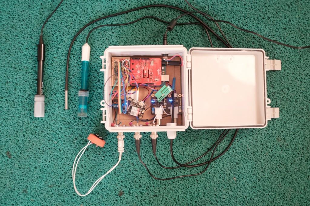 Sensor de qualidade da água