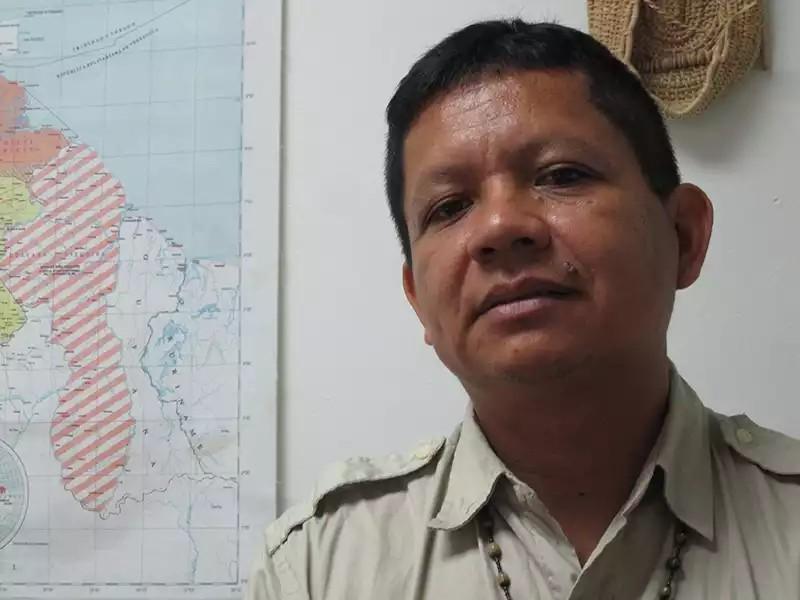 Retrato da liderança indígena Kurripaco Gregório Mirabal