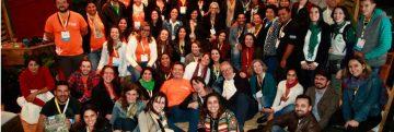 Quase 100 colaboradores de 15 organizações parceiras apresentaram suas experiências no IX CBUC, sob a mediação da jornalista Maria Zulmira. Foto: Eduardo Engelbrecht
